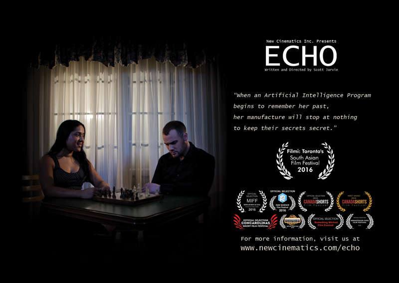 Short Film ECHO's postcard.