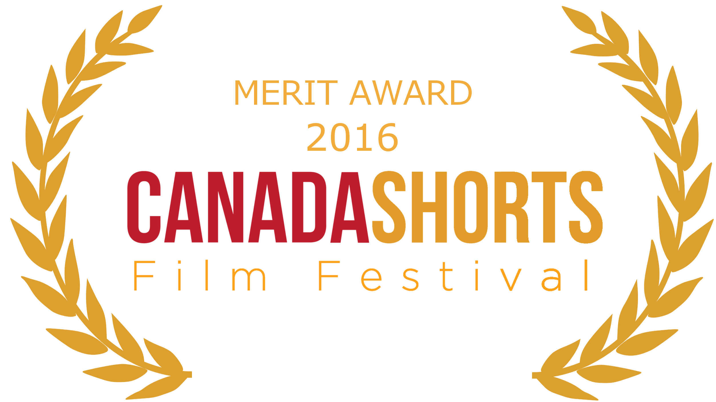 Laurels for Canada Shorts Short Film Festival 2016 Merit Award!